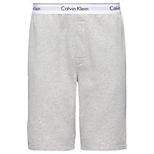 Buy Calvin Klein CK Modern Cotton Lounge Shorts, Grey Online at johnlewis.com