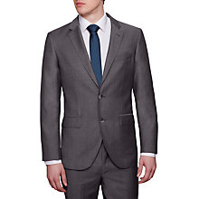 Buy Hackett London Italian Microweave Regular Fit Suit Jacket, Charcoal Online at johnlewis.com