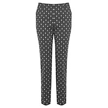 Buy Oasis Side Stripe Geo Trousers, Multi/Black Online at johnlewis.com