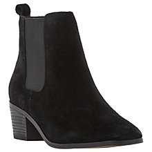 Buy Steve Madden Radley Block Heeled Ankle Boots Online at johnlewis.com