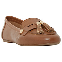 Buy Dune Gondola Tassel Loafers, Blue Online at johnlewis.com