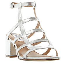 Buy Steve Madden Ilari Cage Block Heeled Sandals Online at johnlewis.com