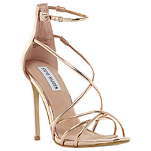Buy Steve Madden Satire Strappy Stiletto Heeled Sandals Online at johnlewis.com