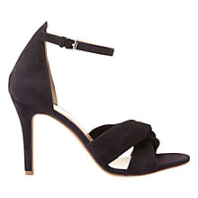 Buy Mint Velvet Marty Stiletto Sandals, Navy Online at johnlewis.com