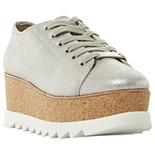 Buy Steve Madden Korrie Flatform Trainers Online at johnlewis.com