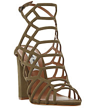 Buy Steve Madden Skales Block Heeled Sandals Online at johnlewis.com