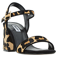 Buy Dune Mylow Block Heeled Sandals Online at johnlewis.com