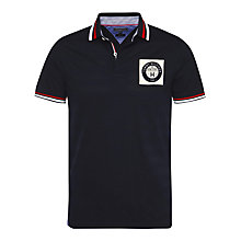 Buy Tommy Hilfiger Medwin Cotton Polo Shirt, Navy/Multi Online at johnlewis.com