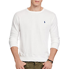 Buy Polo Ralph Lauren Long Sleeve Crew Neck Sweatshirt Online at johnlewis.com
