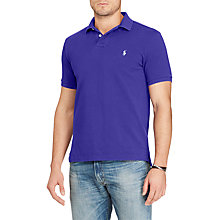 Buy Polo Ralph Lauren Slim Fit Short Sleeve Polo Shirt Online at johnlewis.com