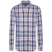 Buy Tommy Hilfiger Layton Check Cotton Shirt, Dutch Navy/Multi Online at johnlewis.com