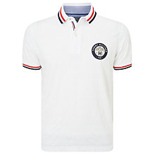 Buy Tommy Hilfiger Medwin Cotton Polo Shirt, Blue/Red/White Online at johnlewis.com