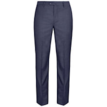 Buy Hackett London Italian Sharkskin Wool Suit Trousers, Airforce Blue Online at johnlewis.com