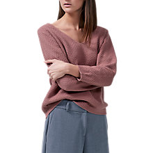 Buy Selected Femme Delilah Jumper, Burlwood Online at johnlewis.com