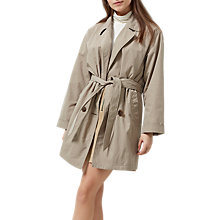 Buy Selected Femme Laureen Trench Coat, Roasted Cashew Online at johnlewis.com