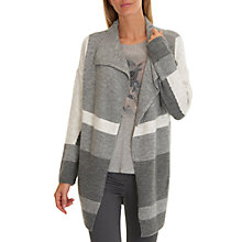 Buy Betty & Co. Wrap Around Cardigan, Grey Online at johnlewis.com