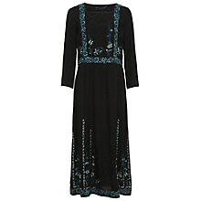 Buy French Connection Argento Stitch Dress, Black Online at johnlewis.com