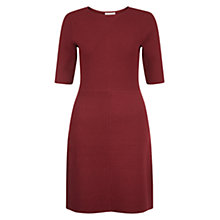 Buy Hobbs Tamsin Dress, Cherry Red Online at johnlewis.com