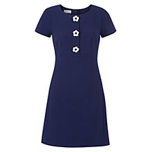 Buy Hobbs July Dress, French Blue Online at johnlewis.com