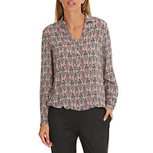 Buy Betty & Co. Printed Blouse, Rosé/Grey Online at johnlewis.com