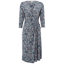 Buy White Stuff Waterlilly Dress, Squirrel Grey Online at johnlewis.com