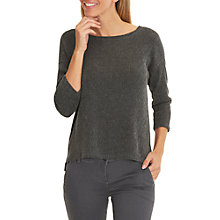 Buy Betty & Co. Crinkle Stretch Top, Phantom Online at johnlewis.com