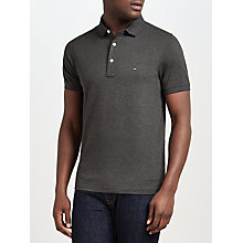 Buy Tommy Hilfiger Luxury Pique Short Sleeve Polo Top Online at johnlewis.com