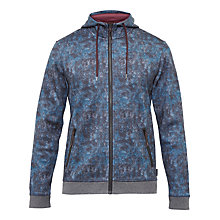 Buy Ted Baker Lobsta Printed Hoodie, Bright Blue Online at johnlewis.com