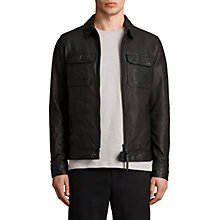 Buy AllSaints Stretner Jacket, Black Online at johnlewis.com