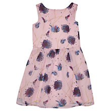 Buy Jigsaw Girls' Blooming Dandelion Print Dress, Pink Online at johnlewis.com