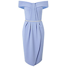 Buy Miss Selfridge Pleat Bandeau Wrap Dress Online at johnlewis.com