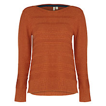 Buy White Stuff Loopy Loop Jumper, Marmalade Orange Online at johnlewis.com
