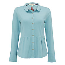 Buy White Stuff Nightingale Jersey Shirt, Bluebird Online at johnlewis.com