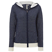 Buy White Stuff Solent Stripe Hoodie, Navy Online at johnlewis.com