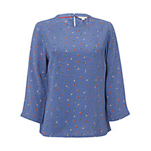 Buy White Stuff Lilly Top, Petunia Blue Online at johnlewis.com