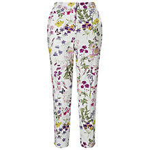 Buy Miss Selfridge Lark Print Trousers, Multi Online at johnlewis.com