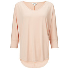 Buy Miss Selfridge Longline T-Shirt, Pink Online at johnlewis.com
