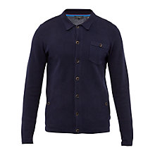 Buy Ted Baker Jackso Collared Cardigan, Navy Online at johnlewis.com
