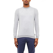 Buy Ted Baker Brainb Textured Crew Neck Jumper Online at johnlewis.com