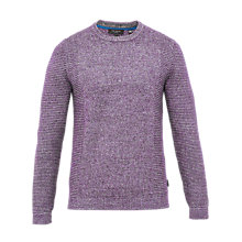 Buy Ted Baker Debut Textured Crew Neck Jumper Online at johnlewis.com