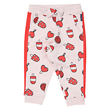 Buy Polarn O. Pyret Baby Icecream Trousers, Pink Online at johnlewis.com