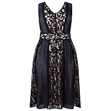 Buy Studio 8 Atlanta Dress, Navy Online at johnlewis.com