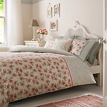 Buy Emma Bridgewater Striped Rose Duvet Cover and Pillowcase Set Online at johnlewis.com