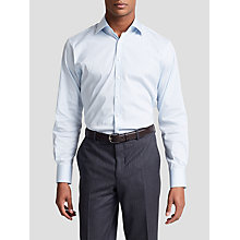 Buy Thomas Pink Brett Check Athletic Fit Shirt, Blue/White Online at johnlewis.com
