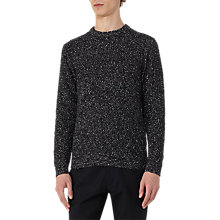 Buy Reiss Tazer Flecked Crew Neck Jumper Online at johnlewis.com