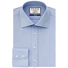 Buy Thomas Pink Victor Athletic Fit Shirt, Blue/White Online at johnlewis.com