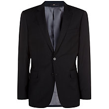 Buy Jaeger Textured Wool Regular Fit Suit Jacket, Midnight Online at johnlewis.com