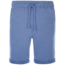 Buy Hamilton and Hare Terry Cotton Sweat Shorts, Cobalt Blue Online at johnlewis.com