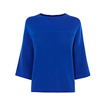 Buy Karen Millen Chunky Colourful Jumper, Blue Online at johnlewis.com