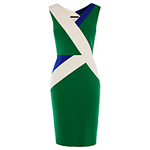 Buy Karen Millen Stripe Panel Dress, Multi Online at johnlewis.com